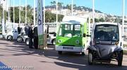Salon Getis à Cannes, des voiturettes, quelques voitures et des bateaux