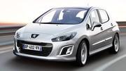 Peugeot 308 restylée : les tarifs