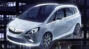 Zafira Tourer Concept : la nouvelle version de l'Opel Zafira présentée sous forme de concept-car