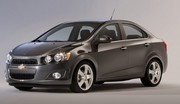 Chevrolet Aveo quatre portes, comme Sonic