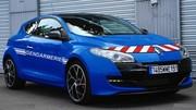 Renault : la Mégane RS de la gendarmerie en vidéo