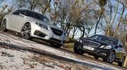 Essai Mercedes Classe E 250 CDI 204 ch vs Saab 9-5 2.0 TTID 190 ch : Le cœur et la raison