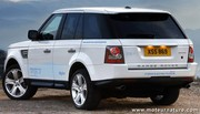 Range Rover diesel hybride rechargeable