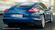 Porsche Panamera hybride : 159 g/km de CO2