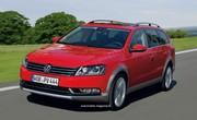 Volkswagen CrossPassat : Folie des hauteurs