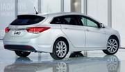 Hyundai publie les premières photos de la i40 : La version break exposée à Genève