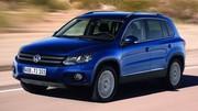 Volkswagen Tiguan restylé : nouvelles photos