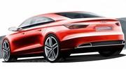 Audi A3 Concept, premiers dessins