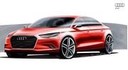 Audi A3 Concept : la future version à coffre de l'A3 présentée à Genève
