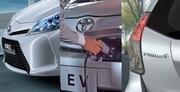 Toyota Prius+, Yaris HSD et iQ EV