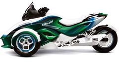 Le roadster Can Am Spyder passe à l'hybride : Une version plus propre de cet engin à trois roues
