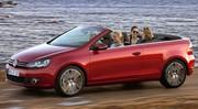 Volkswagen Golf Cabriolet : La Golf se fait une toile