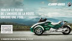 Can-Am Spyder hybride concept