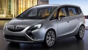 Opel Zafira Concept, de plus près
