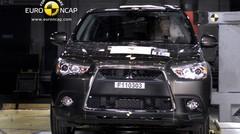 Crash-test Mitsubishi ASX : Place aux jeunes