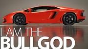 Lamborghini Aventador LP700-4 : maintenant de profil et de 3/4 avant