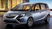 Opel Zafira Tourer Concept, ambiance lounge