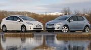Essai Toyota Auris HSD vs Toyota Prius 3 : La guerre des hybrides aura bien lieu