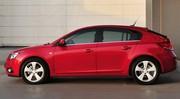 Nouvelles photos de la Chevrolet Cruze cinq portes
