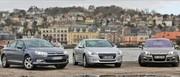 Essai comparatif Peugeot 508 HDI 140, Citroën C5 HDI 140, Renault Laguna dCi 130