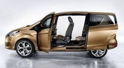 Ford B-Max, ouverture facile