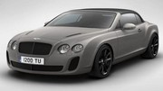 Bentley Continental Supersports Ice Speed Record Convertible