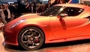 Alfa Romeo 4C Concept : future supercar compacte