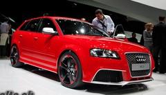 Audi RS3 à Genève