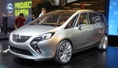 Opel Zafira Tourer Concept, proche de la série, en première mondiale