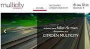 """Multicity, le web mobilité """"top"""" de Citroën"""