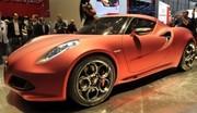 Alfa Romeo 4C Concept Joyau à Genève