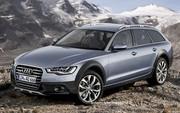 Future Audi A6 Allroad : Terrain connu