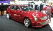 Cadillac CTS-V SW, pour faire la (les) course(s)