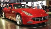 Ferrari FF : Remplaçante de la 612 Scaglietti