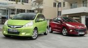 Essai : La Honda Jazz Hybrid affronte la Peugeot 207 HDi