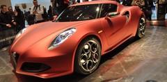 Alfa Romeo 4C Concept, bellissima !