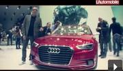 Vidéo Audi A3 Concept : Déguisement sportif