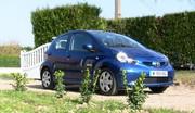 141,9 kilomètres sur une seule charge en Toyota Aygo convertie à l'électricité