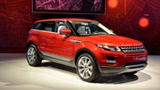 Range Rover Evoque : les tarifs