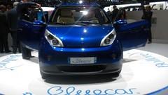 La BlueCar version client présentée à Genève