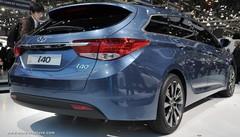 La Hyundai i40 commence au meilleur niveau