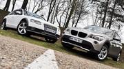 Essai Audi A4 Allroad Quattro 2.0 TDI 170 ch vs BMW X1 xDrive20d 177 ch : Bourgeoises rêvant d'aventure