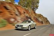 Nouveau Mercedes SLK : déjà à l'essai !