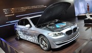 BMW Série 5 hybride rechargeable : présentée à Shanghai en avril