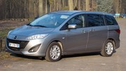Essai Mazda 5 diesel : remplit (tristement) son office