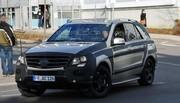 Mercedes ML 3 : nouvelles photos
