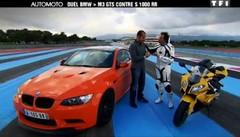Emission Automoto : essai Aston Martin Virage, défi Auto vs Moto, essai Mercedes Classe C