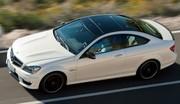 Nouvelle Mercedes C63 AMG Coupé : forte en couple