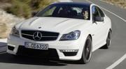 Mercedes C63 AMG Coupé : jusqu'à 487 chevaux !