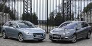 Essai Peugeot 508 SW ou Renault Laguna Estate: le retour du grand break